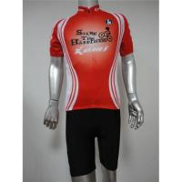 China Short sleeve cycling jersey and shorts/cycling wear on sale