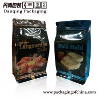 Quality Quad Seal Pouches With Zipper, High puncture resistance  , Stock Stand Up Zipper Bags for sale
