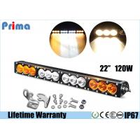 China 22inch 120W High Power Cree Led Fog Light Bar Amber White Waterproof Dustproof on sale