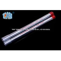 20mm , 25mm Galvanized BS4568 Conduit Pipe , Steel Electrical Conduit GI Tube