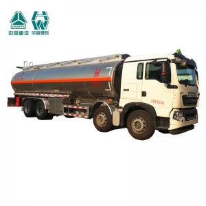 Quality Multi Color Diesel Fuel Trailer , Customized Size Aluminum Tanker Trailer for sale