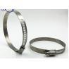 Quality Customized Size Titanium Fasteners , Round Titanium Alloy Hose Clamp for sale