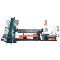 Quality High Feeding Plastic Recycling Machine LDS Dry Film Granulating Extruder for sale