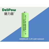 Environmentally Friendly 600mah Low Temperature Rechargeable Batteries OEM Available