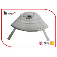 Quality Little Car Embroidery Fishing Bucket Hat , Camo Inner Brim Cotton Bucket Hat for sale