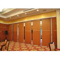 Quality Aluminum Fabric Acoustic Room Dividers For Meeting Room , Conference Room for sale