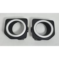 Buy cheap Land Rover Freelander 2 2010 ABS Black Front Chrome Fog Light Covers Replacement from wholesalers