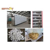Quality Breakfast Cereal / Corn Flakes Two Screw Extruder , SS Food Grade Extruder for sale