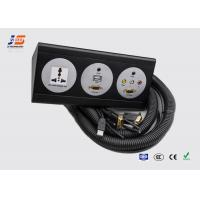 Quality 3 Pin Electrical Power Socket Tabletop For Conference Room Desk for sale