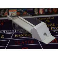 China White Baccarat Cheat System 8 Decks Magic Poker Shoe With Two Remote Controllers on sale
