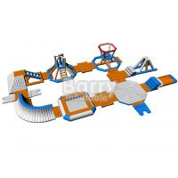 China Summer Water Sport Games Inflatable Water Park / Durable Water Park Resorts on sale