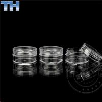 Quality 3 / 5 / 10g Transparent Empty Cosmetic Jars For Skin Care Cream / Shampoo for sale