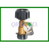 China QCC1 Propane Tank Gauge , Use For Propane Appliances With Type 1 Connections on sale