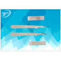 Quality Sterilized Disposable Scalpel With Carbon Steel Balde By Gamma Radiation for sale