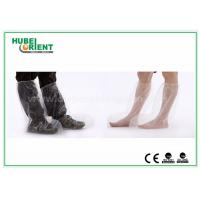 Quality Plastic Disposable Shoe Cover Outdoor / Waterproof Rain Boot Cover For Hospital for sale