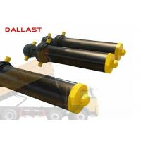 Quality Hollow Plunger Single Acting Telescopic Cylinder Dump Truck Front Hydraulic Type for sale