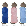 Short sleeves dog hoodie winter coats pet dachshund clothing L - XS