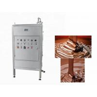 Quality 250L Continuous Chocolate Bar Production Line  Chocolate Tempering Equipment for sale
