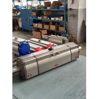 Quality three position pneumatic actuator double acting for valves for sale
