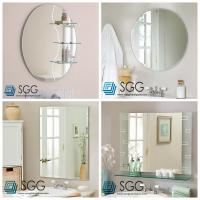 Quality Clear silver mirror factory transparent bathroom mirror 4mm 5mm 6mm for sale