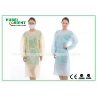 Quality Hospital Disposable Isolation Gowns , Elastic Cuff disposable medical gowns for sale
