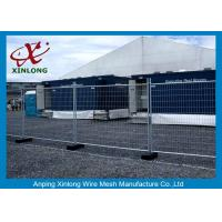 Quality Flexible Green Temporary Fencing Panels / Temporary Security Fence Panels Durable for sale