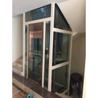 Machine Room Less Home Elevator Lift With Steel Strap
