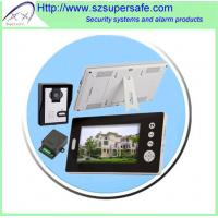China wireless video intercom system 7'' for security on sale