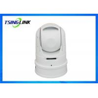 Quality Smart Dual Stream Vehicle Mounted PTZ Camera WiFi 4G Wireless For Emergency for sale
