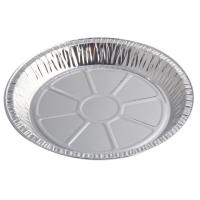 Quality Round Aluminium Foil Food Containers , Disposable Aluminium Foil Trays For Dish for sale