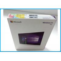 Quality Multi - Language Product OEM Key Microsoft Windows 10 Pro Pack With DVD OEM for sale