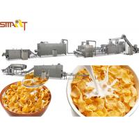 Quality Cereal Corn And Wheat Flakes Millet Flakes Making Machine Long Life Warranty for sale