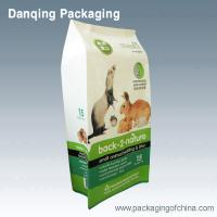 Quality Water Proof Side Gusset Seal Dog Food Packaging Bags,Parrots Food Packaging Bags for sale