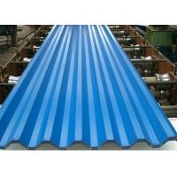 Quality Galvanized Roof Corrugated Steel Sheet Gi Iron Roofing Zinc Coating 30g-275g for sale