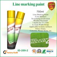 Quick Color Line Spray Marker Paint For Concrete Asphalt