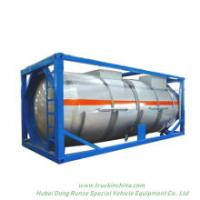 Phosphorous Acid Isotank Swap Stainless Steel Tank Body for Un1381 H3po4 Road Transport in 20feet Container Frame Locks