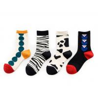 Buy cheap Colorful Fashion Women's Novelty Socks Knitted Technics For Ladies Party from wholesalers
