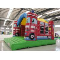 China 0.55mm Pvc Tarpaulin Indoor Inflatable Bounce House , Toddler Jump House Double Stitching on sale