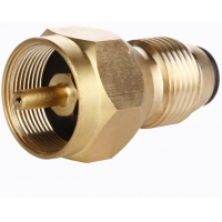 China Solid Brass Propane Tank Gas Refill Adapter Propane Refill Adapter on sale