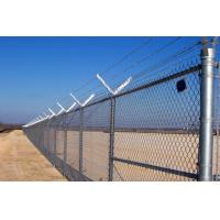 Quality 358 High Security Anti Climb Fence , Pvc Coated No Climb Fence Panels 76.2x12.7mm for sale
