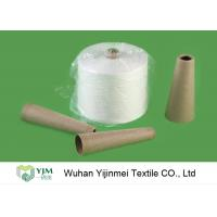 Quality 20S - 60S Raw White / Colorful 100 Polyester Yarn Raw Virgin Sewing Material for sale