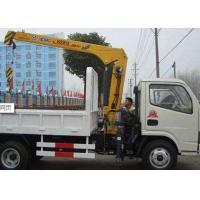 Quality XCMG 2T Hydraulic Arm  safety construction crane, Knuckle Boom Truck Crane CE for sale