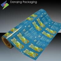 Quality Laminating Roll Printed Packaging Film , Aluminum Foil Food Packaging Film for sale