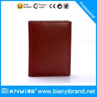 2015 Factory direct bulk selling man leather wallet