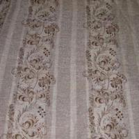 Jacquard curtain fabric made of 30 rayon 60 polyester for Space made of fabric