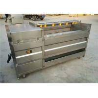 Quality Silver Potato Washing Equipment , 304 Stainless Steel Carrot Cleaning Machine for sale