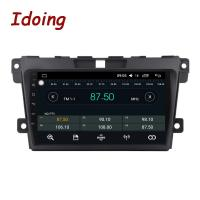 Quality Idoing 1Din 2.5D IPS Screen Car Android8.0 Radio Video Multimedia Player Fit Mazda CX-7 CX 7 CX7 4G+64G GPS Navigation F for sale