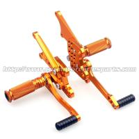 Quality CNC Milling Motorcycle Rear Sets Rotating Controls For Kawasaki ZX 14 Parts for sale