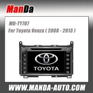 Quality Manda good quality car radio for Toyota Venza ( 2008 2009 2010 2011 2012 2013 ) in-dash navigation gps automobiles for sale