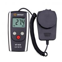 Quality Industrial Portable Black Digital Light Meter With Auto Revise Parameters for sale
